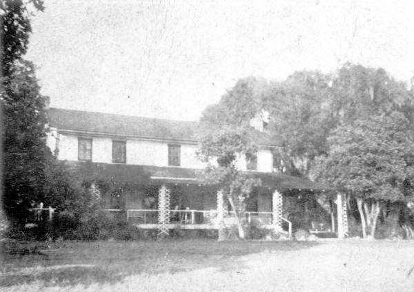 Front view of the George Sauls home—Saulsville, Florida 1910s.