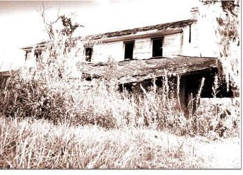 Sauls Home after the fire 1972