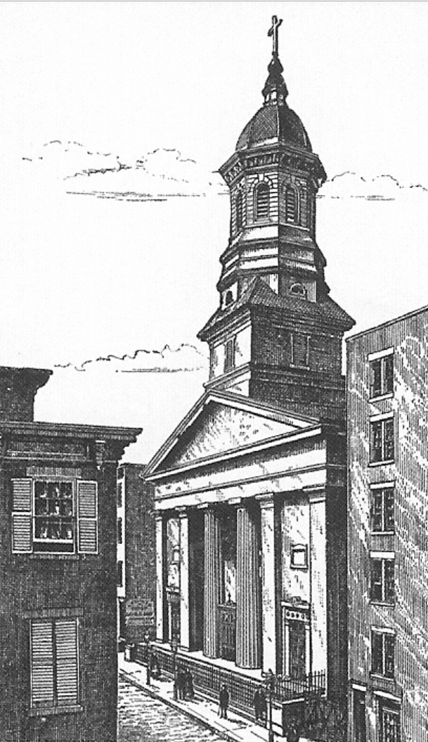 Roman Catholic Church of St. James, Circa 1836