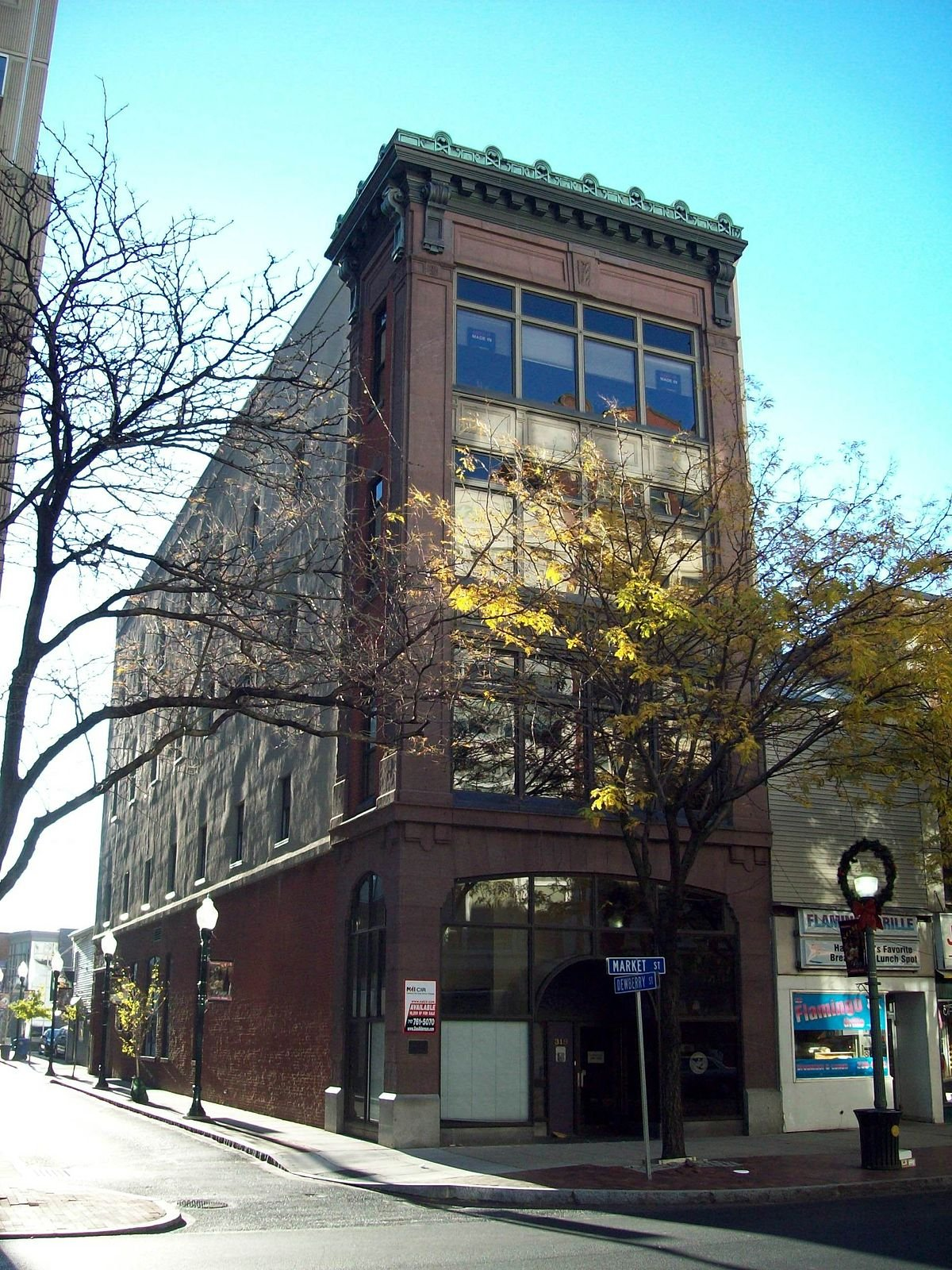 The William Seel Building was built in 1912-1913.