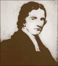 Reverend Robert Little served as the First Unitarian Church's pastor from 1821 until his unexpected death in October of 1827.