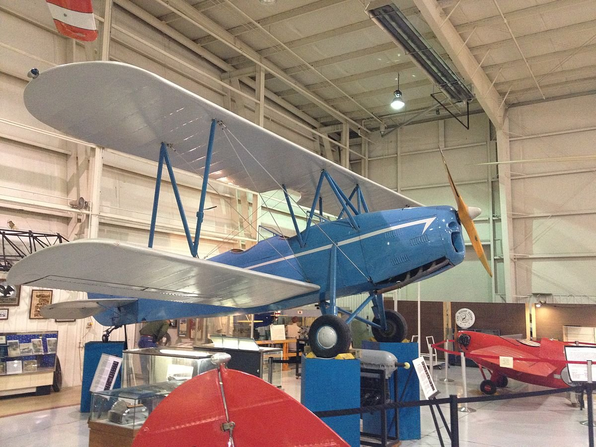 1929 Crosley Moonbeam on display in the Aviation Museum of Kentucky