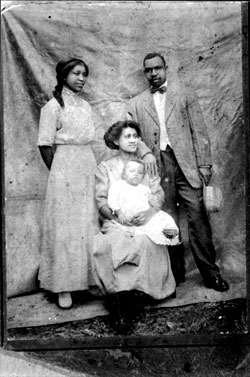 Zora Neale Hurston was born to two former share-cropping slaves - John Hurston and Lucy Ann (Potts) Hurston.