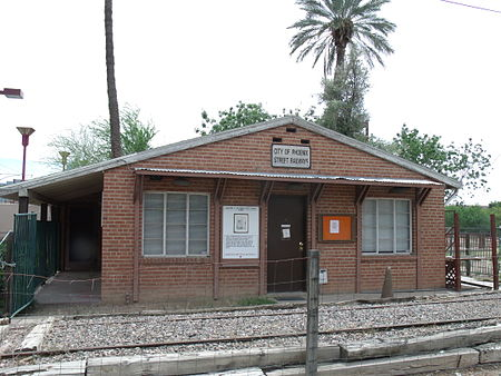 This former dentist's office housed exhibits of the Phoenix Trolley Museum until December 2017. The new location is at 1117 Grand Avenue.