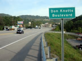 Don Knotts Boulevard, Morgantown, WV