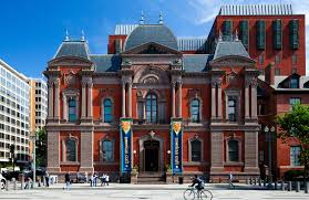 Outside view of the Renwick Gallery.