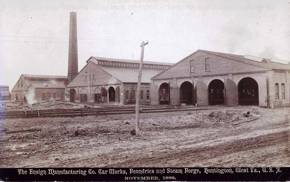 Ensign Manufacturing Company, pictured November 1889