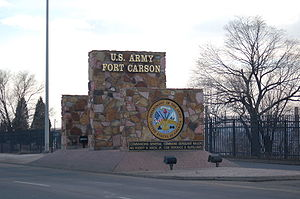 Fort Carson Front Gate