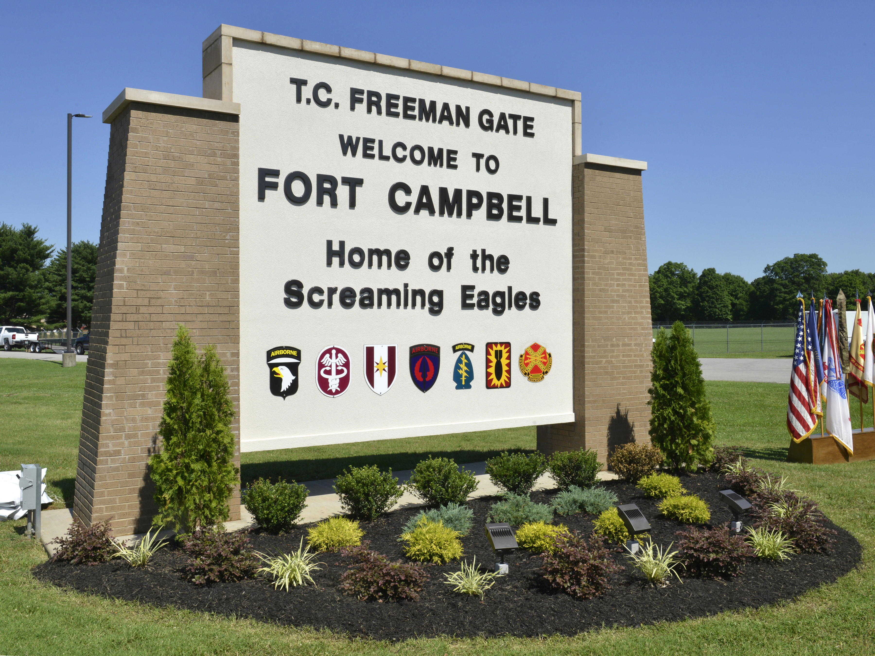 Fort Campbell's Front Gate