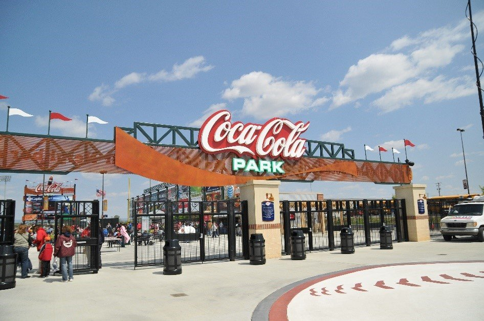 """""""Coca-Cola Park, Home of the Lehigh Valley IronPigs."""" Photo from Discover Lehigh Valley."""