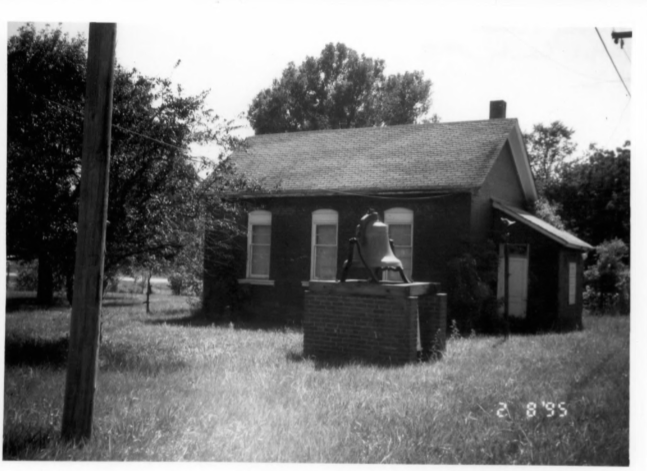 This small brick schoolhouse serves as a good representation of the public education system of Sedalia in the late 1800s.