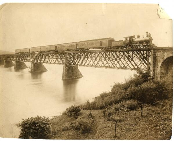 This iron truss bridge was only in service for just over 20 years before it was replaced with the Rockville Bridge.
