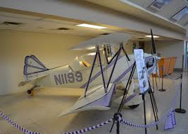 A 1963 Pilurs-Smith DSA-1 Miniplane on display at the museum.