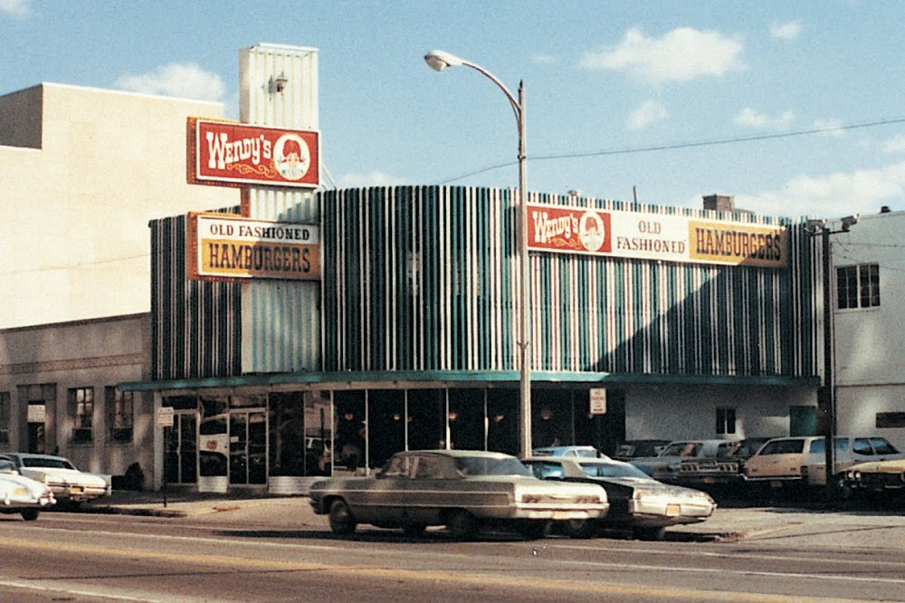 The first Wendy's restaurant in Columbus Ohio