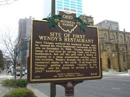 This historical marker was placed by the Ohio Historical Society in 2007.