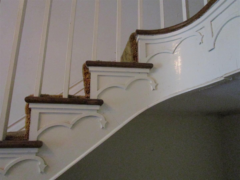 Decorative Wood-work detailing at Grand Stair