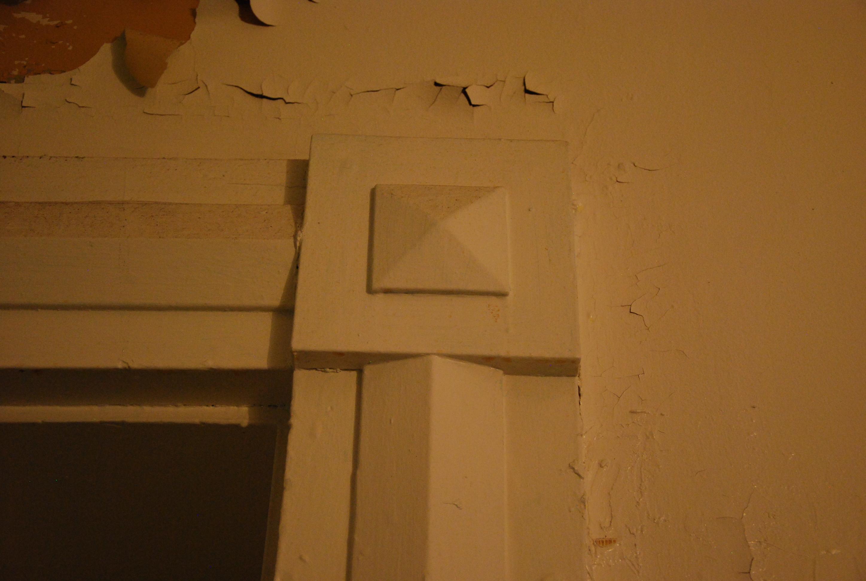 Decorative Ground Floor Door Casing