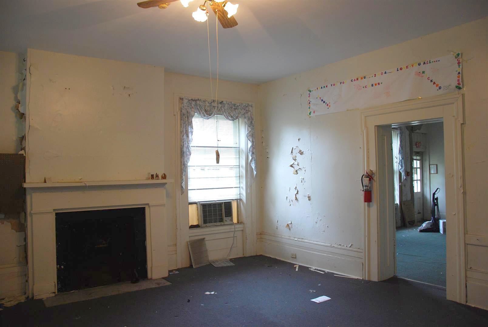 Interior Fireplace Mantel, Typical Window Casing, Door Casing