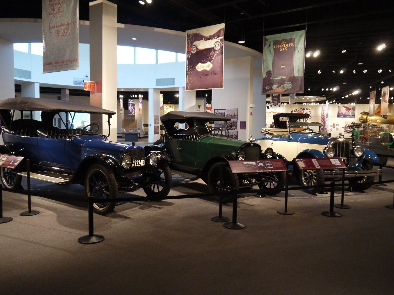 The Crawford Auto-Aviation Museum highlights Northeast Ohio's important role in the development of the transportation industry.