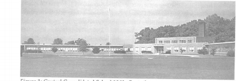 This is a photo of Central Consolidated High School in 1963.