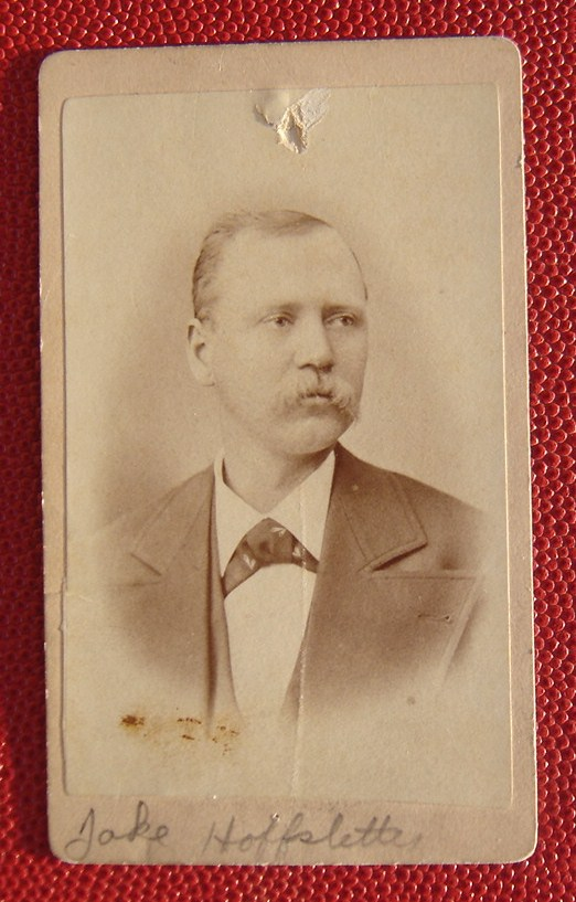 Jacob Hoffstetter of Ann Arbor, Michigan