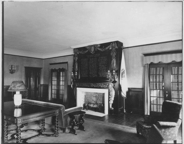Memorial Hall interior, ca. 1950s