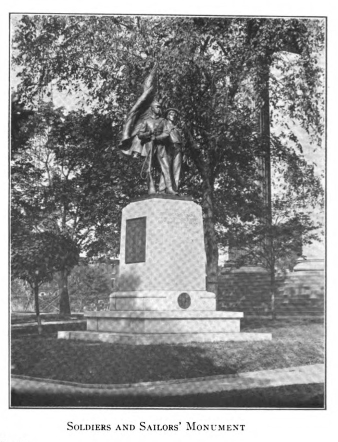 1914 Soldiers and Sailors' Monument