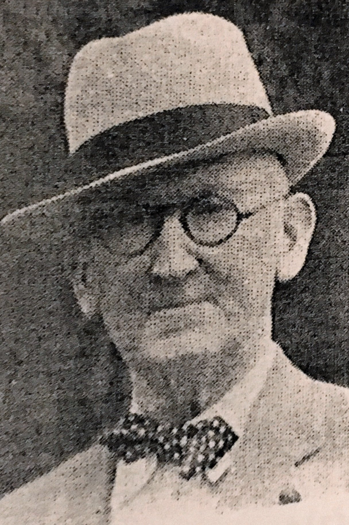 Mayor W. W. Foster from Masonic Sketches, 1939.