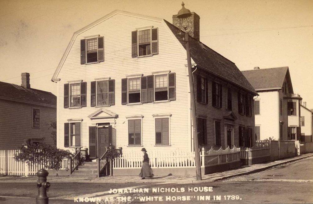 """Jonathan Nichols House"""