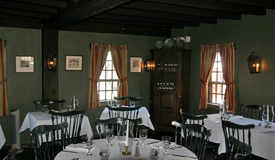 Inside White Horse Tavern