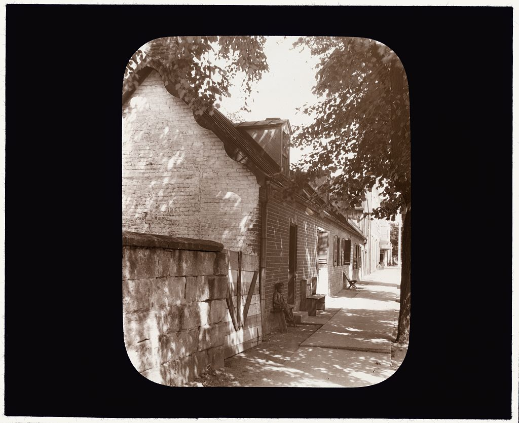 A lantern slide of the museum building, from circa 1927-29