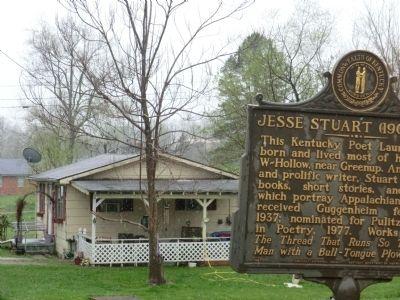 Jesse Stuart Historical Marker