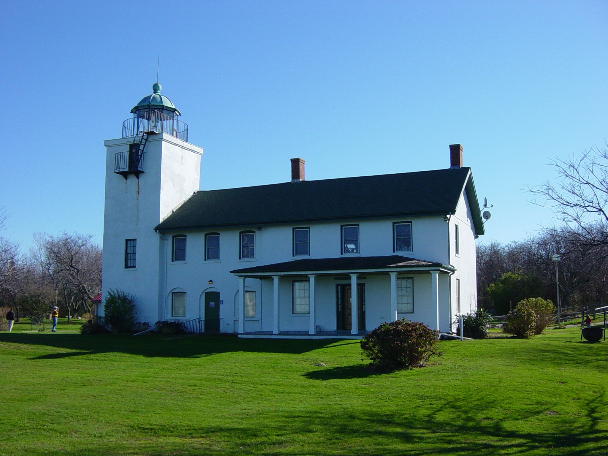 Horton Point Lighthouse This picture courtesy of The Historical Marker Database, HMbd.org Picture by Mike Wintermantel, November 24, 2006.