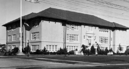 The school as it was in the 1930s.