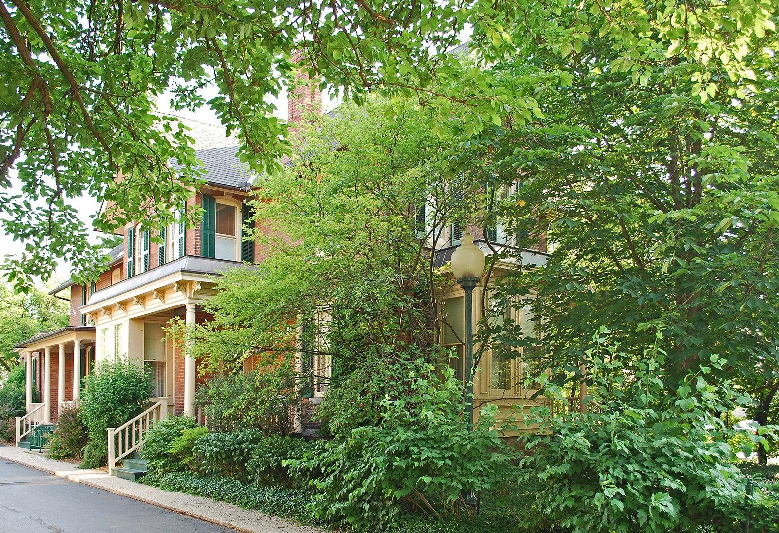 Historic Jacob Hoffstetter House in Ann Arbor