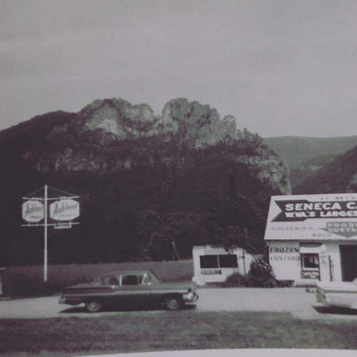 Seneca Rocks in 1962