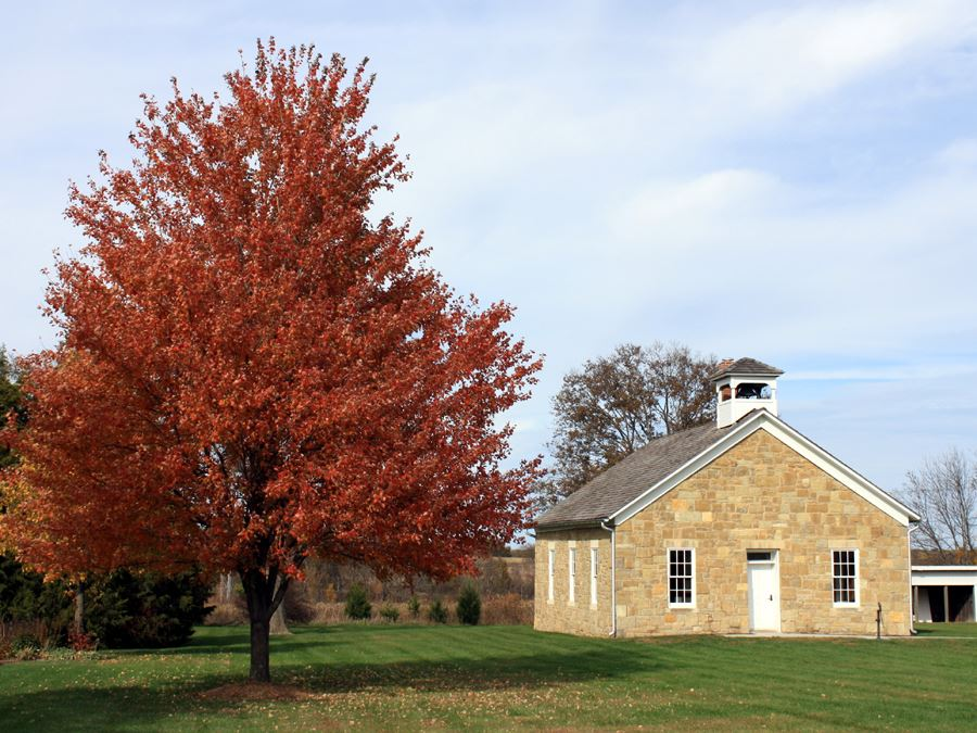 Lanesfield Historic Site Schoolhouse