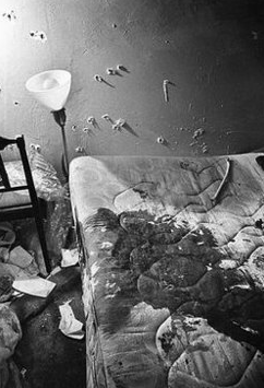 Fred Hampton's Bedroom after Raid