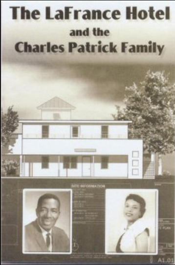 An image depicting the owner of the hotel Charlie Patrick and his wife, whom the hotel is named after.