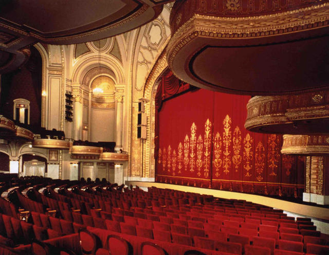 Interior of the Palace Theatre