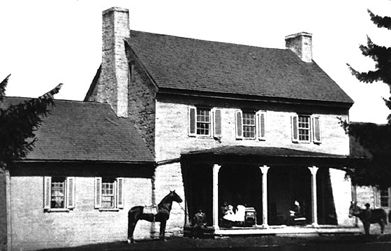 Shelby's Home before the 1906 fire