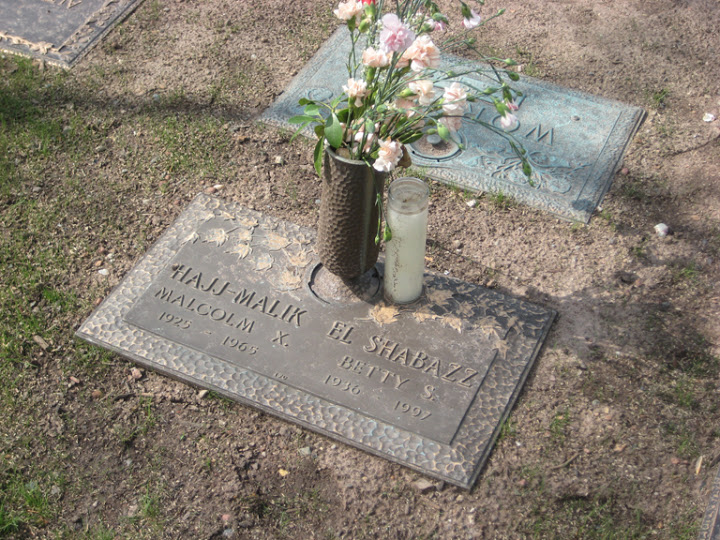 Grave of Malcolm X