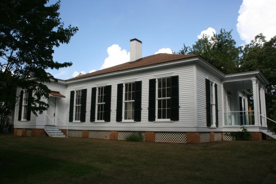 L.Q.C. Lamar lived in this house between 1868 and 1888.