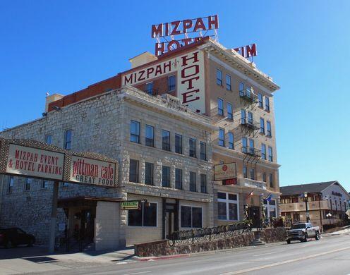 The current Mizpah hotel.