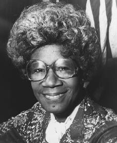 Photograph of Shirley Chisholm