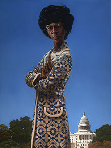 Portrait of Chisholm in the Collection of the U.S. House of Representatives