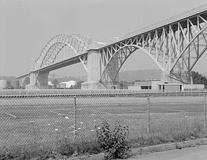 Vintage Photo of the Mckees Rocks Bridge