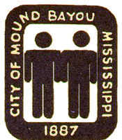 Emblem of the city of Mound Bayou