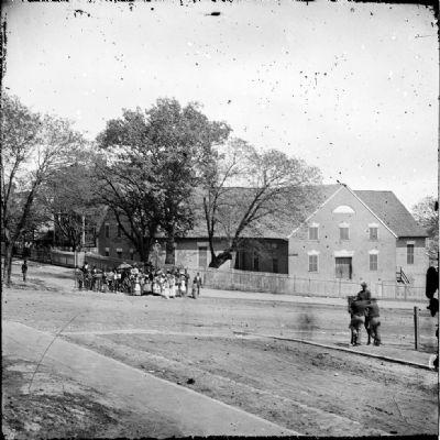 Original First African Baptist Church . It was originally a First Baptist Church that the white church members to African American members in 1841.