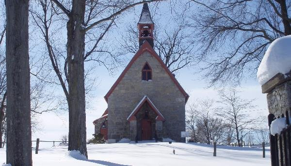 St. Mark's Episcopal Church was completed in 1849